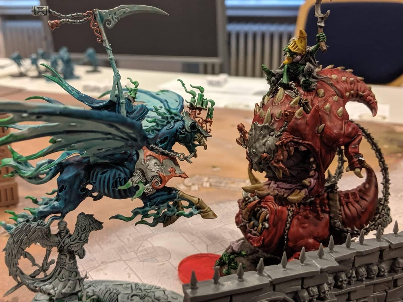 Kampf der Krieger im Tabletop